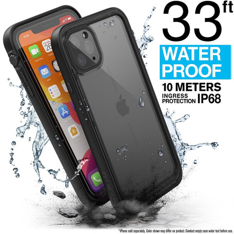 CATALYST Waterproof Case for iPhone 11 Pro Max - Black