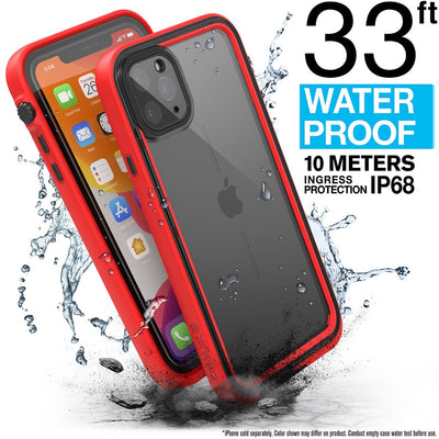 CATALYST Waterproof Case for iPhone 11 Pro Max - Flame Red