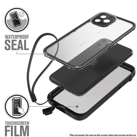 CATALYST Waterproof Case for iPhone 11 Pro - Black