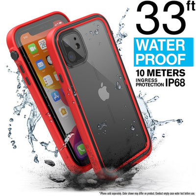 CATALYST Waterproof Case for iPhone 11 - Flame Red