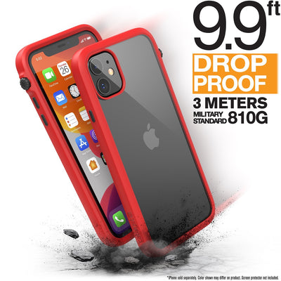 CATALYST Impact Protection Case for iPhone 11 - Flame Red
