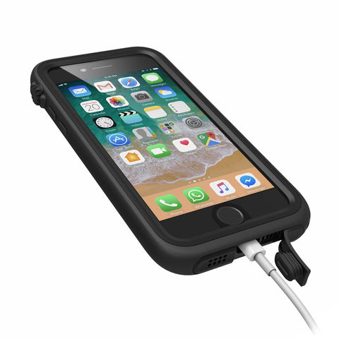 Catalyst Waterproof Case for iPhone 8/7 - Stealth Black