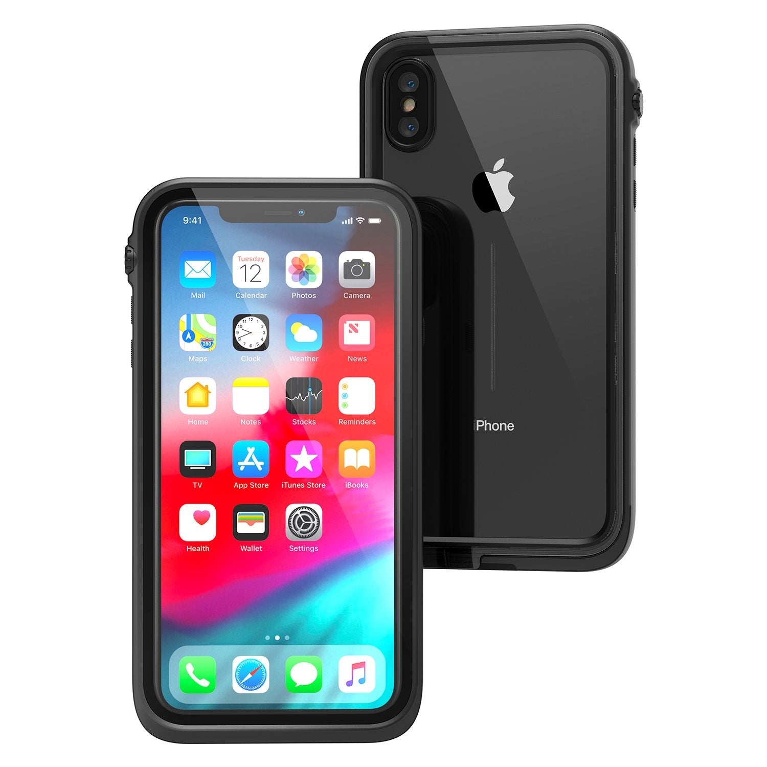 Catalyst Waterproof Case for iPhone Xs Max - Stealth Black