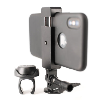 Tilt Phone Mount and Remote