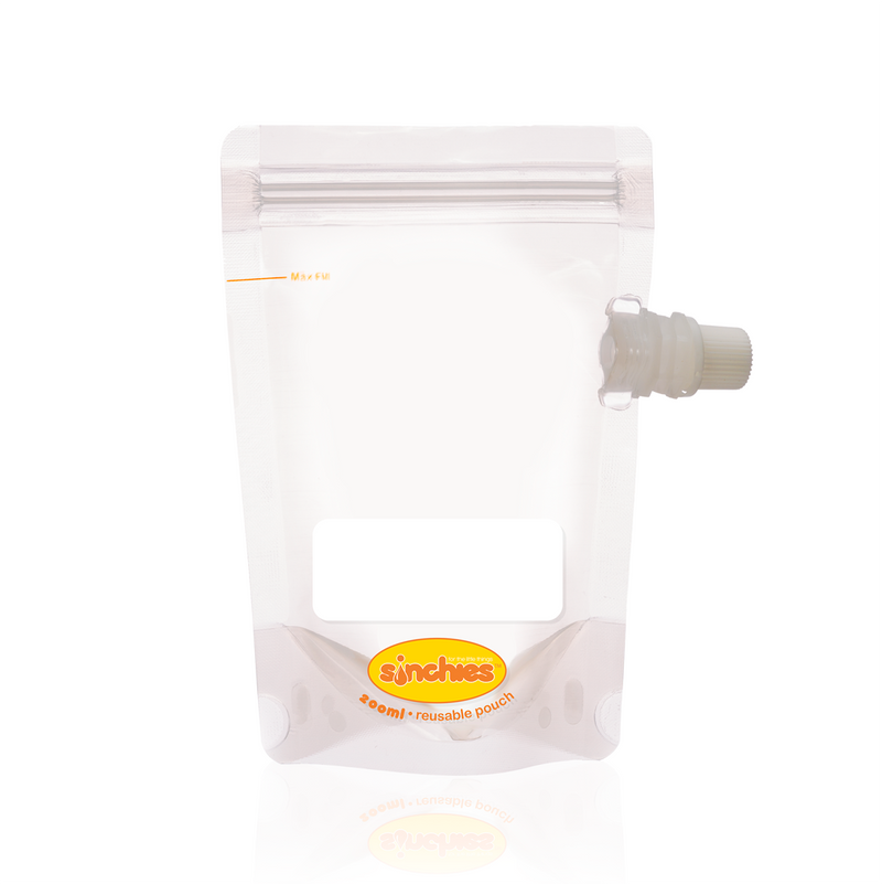 Sinchies Reusable Food Pouch (80 - 500ml)