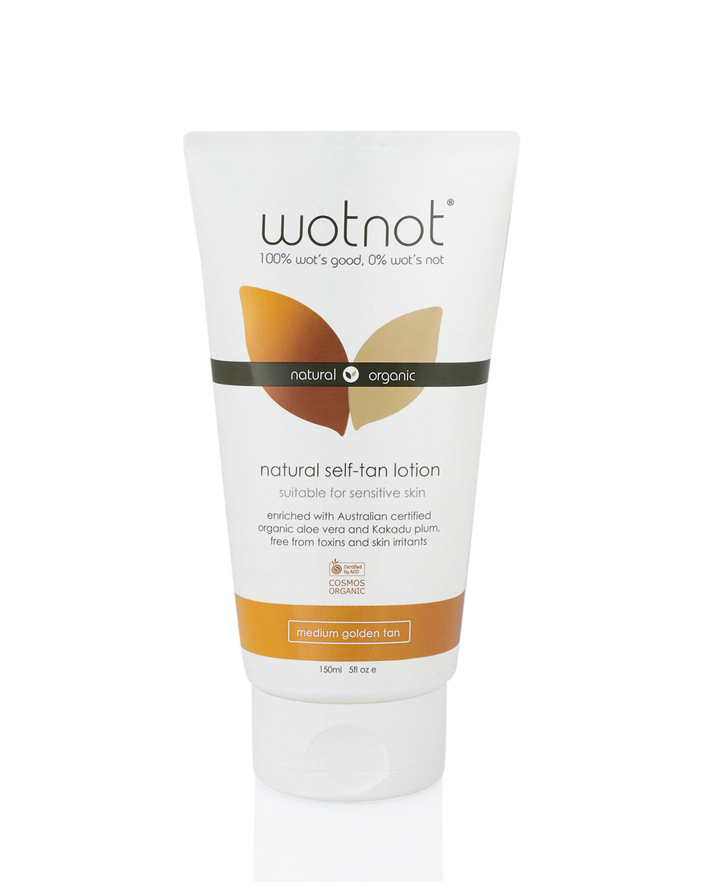 Wotnot COSMOS Certified Organic Self-tanning Lotion (150ml)