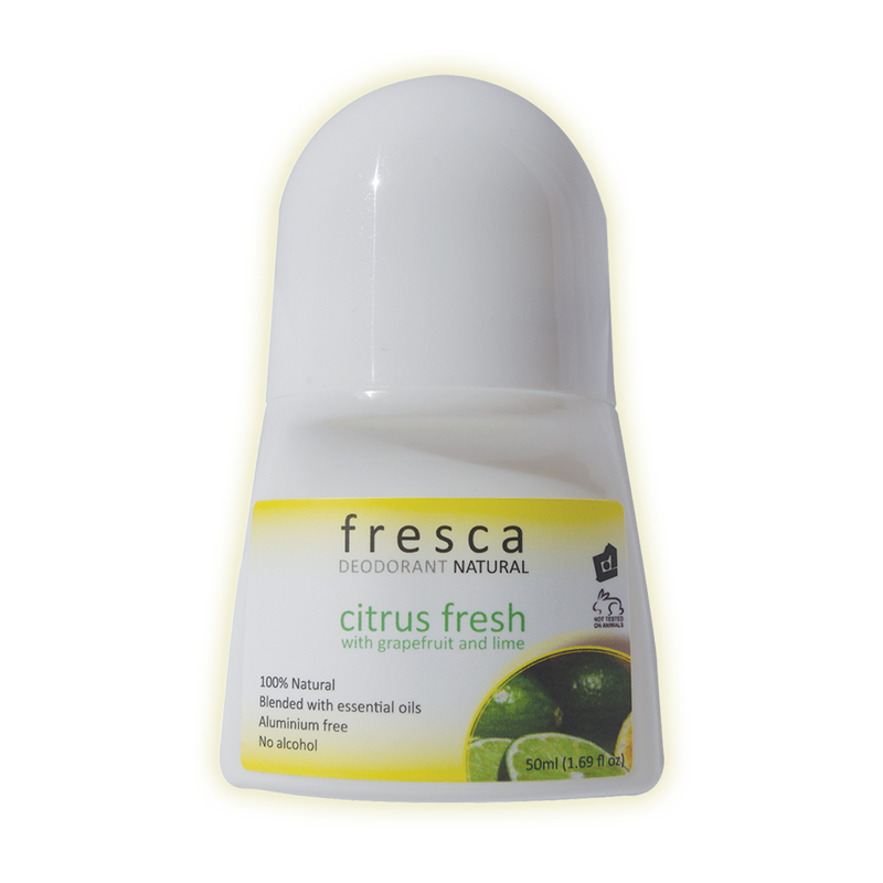 Fresca Natural Deodorant Citrus Fresh (50ml)