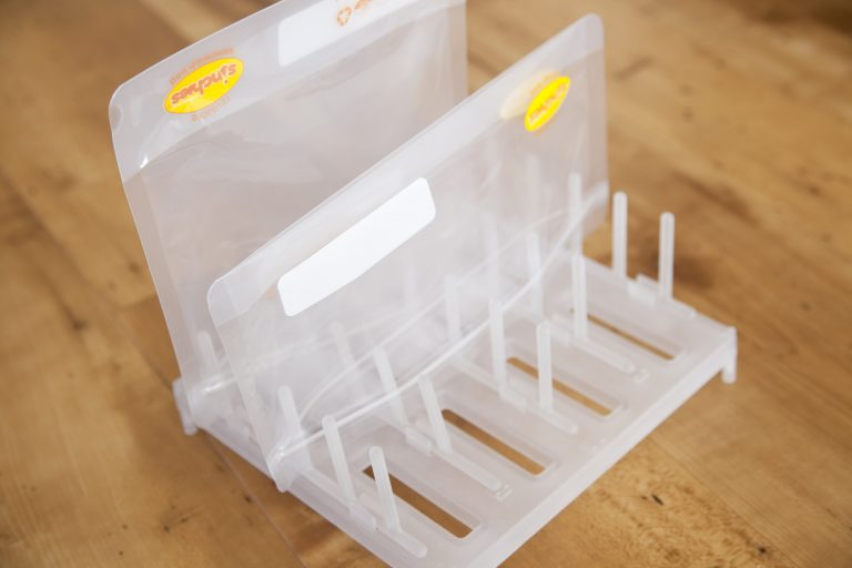 Sinchies Reusable Pouch Drying Rack