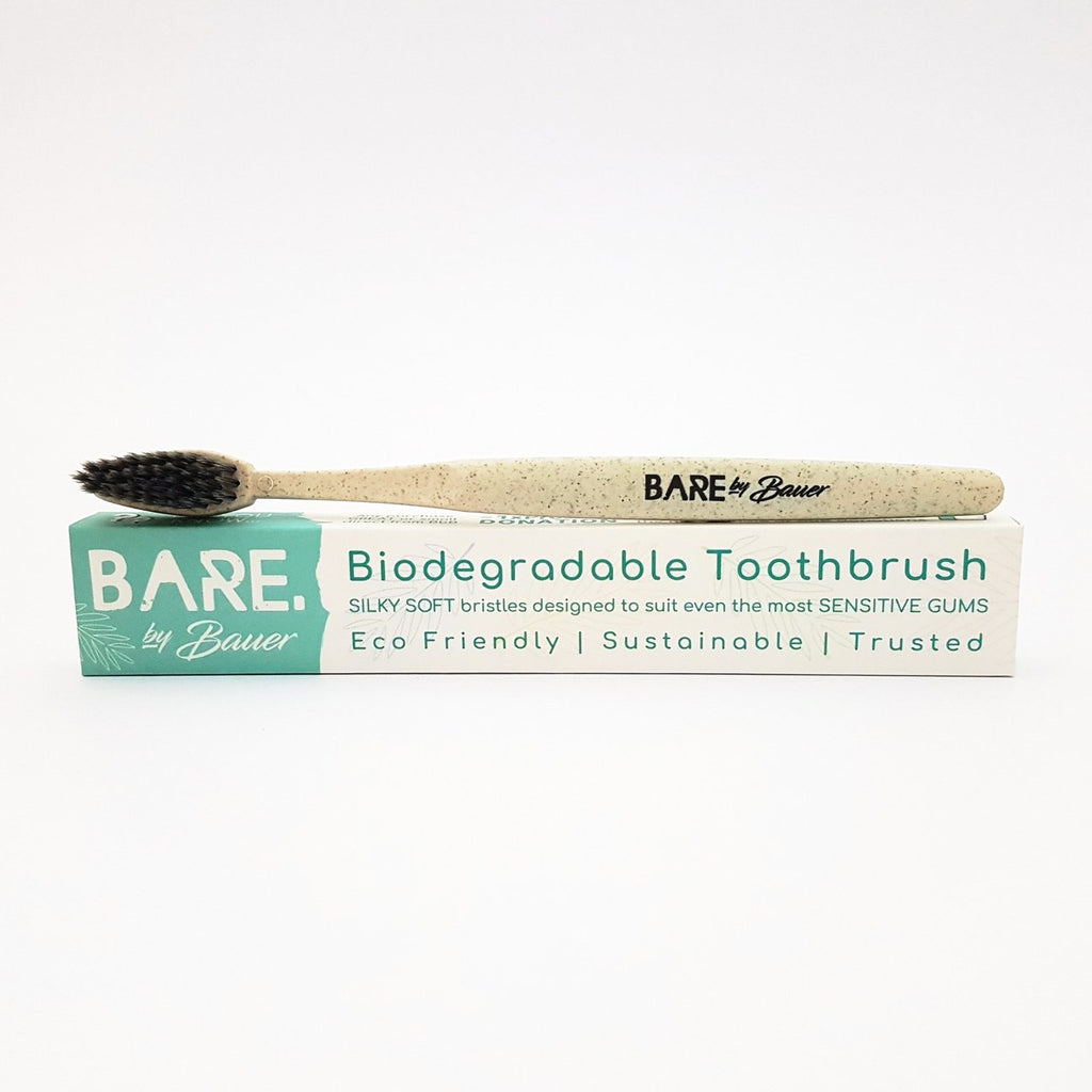 Bare by Bauer Biodegradable Toothbrush