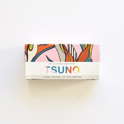 Tsuno Organic Cotton Mini Tampons (16 pack)
