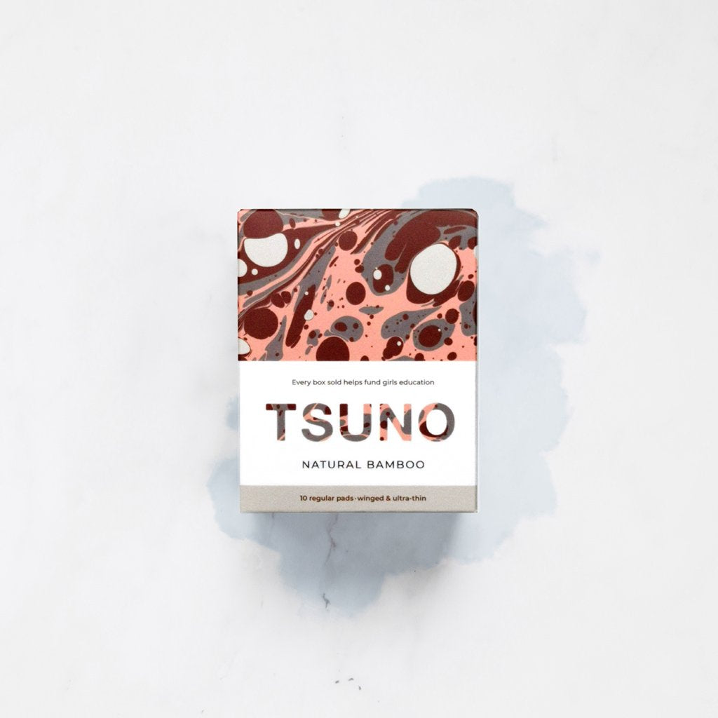Tsuno Natural Bamboo Regular Pads (10 box)