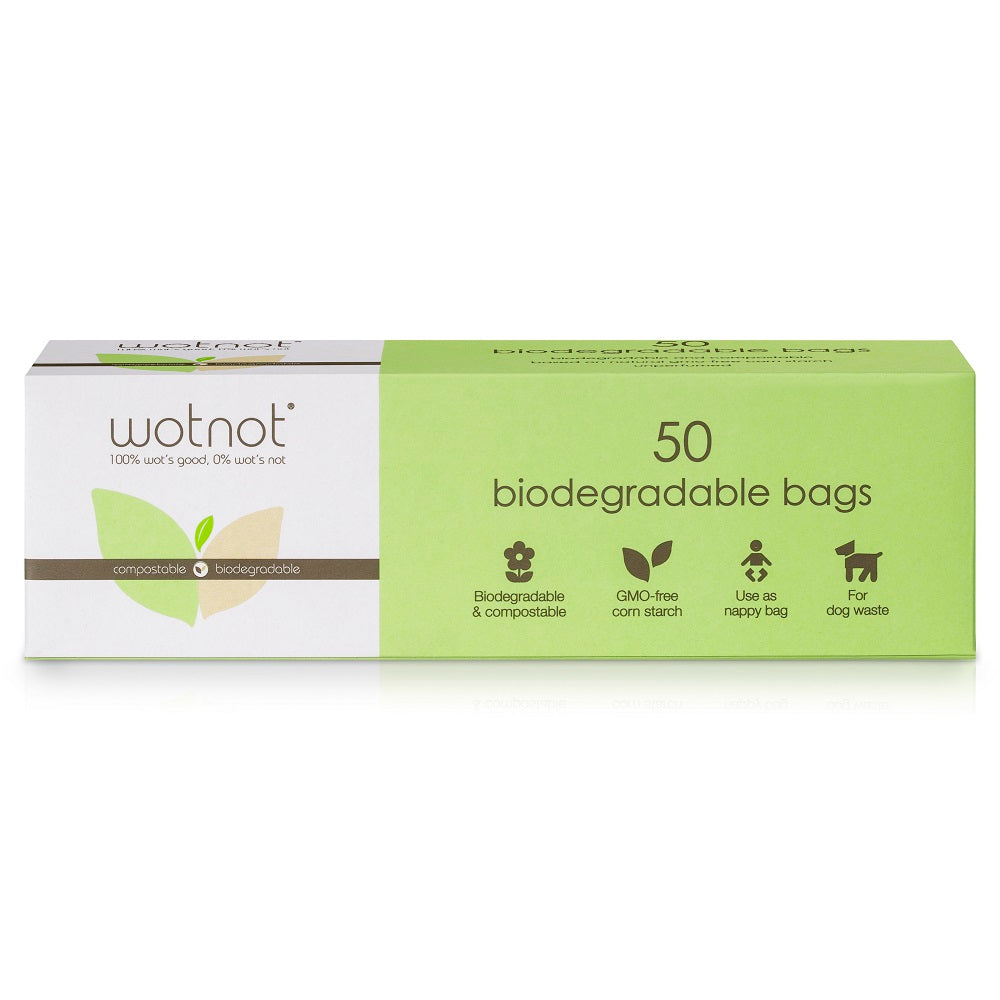 Wotnot Biodegradable Nappy Bags (50pk)