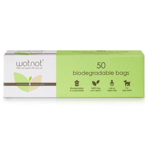 Wotnot Biodegradable Natural Baby Wipes (20 sheets)
