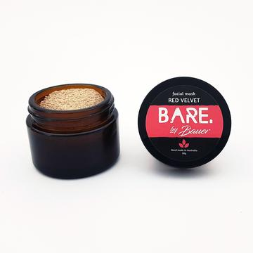 Bare by Bauer Facial Mask Red Velvet (30g)