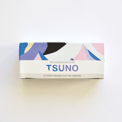 Tsuno Organic Cotton Super Tampons (16 pack)