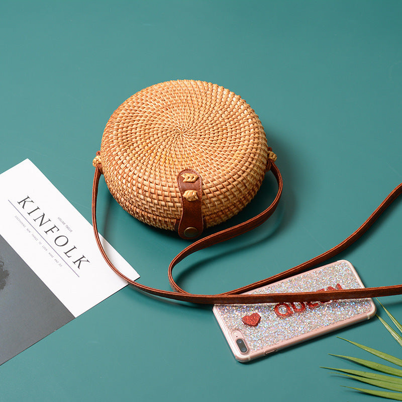 """Tropical Breeze"" Woven Bag"