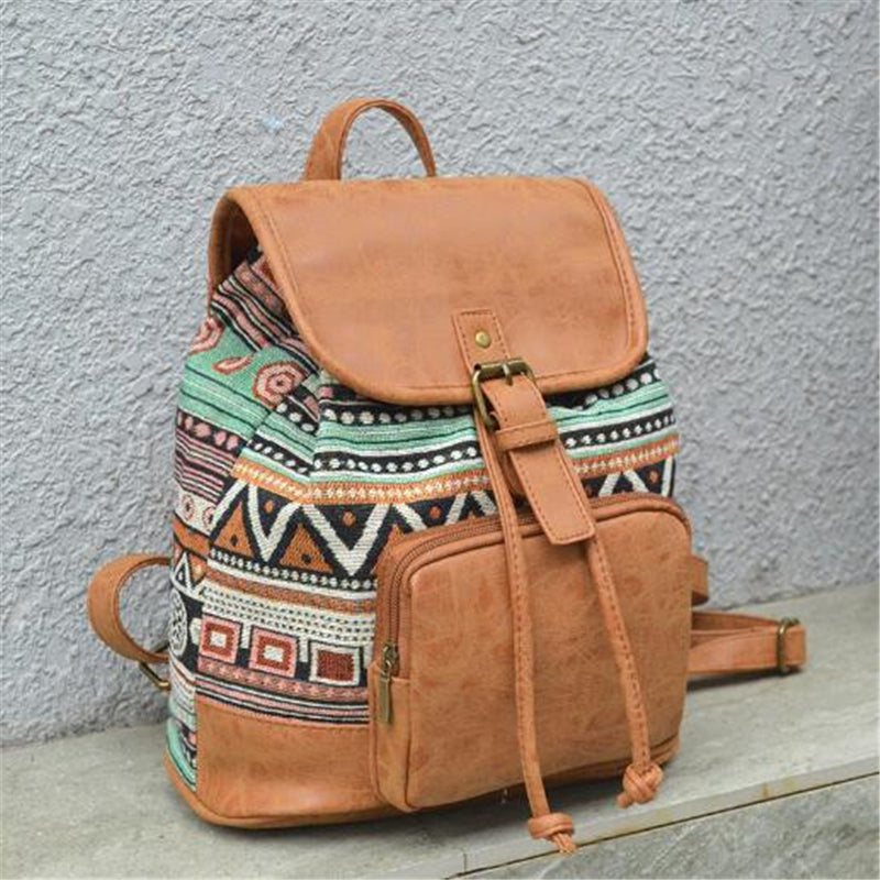 """Heritage"" Leather Backpack"
