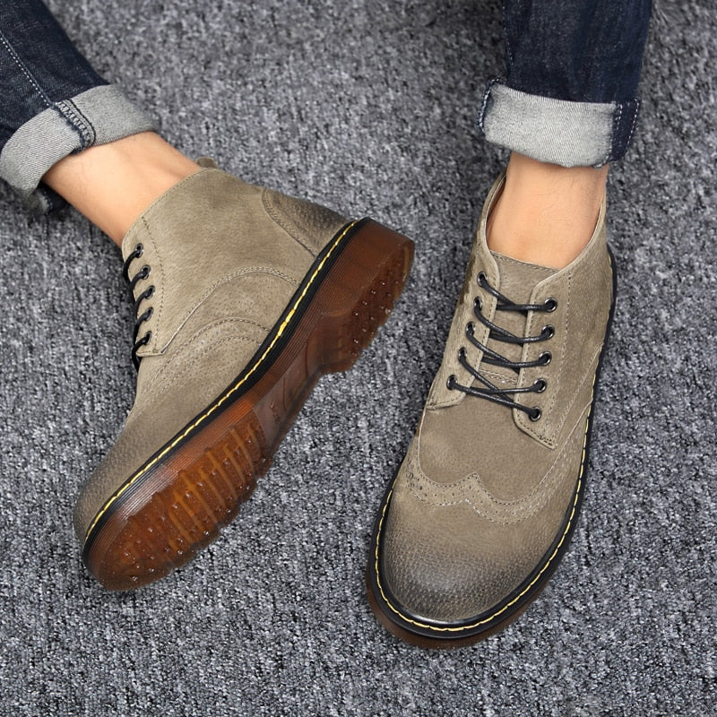 Belgrade High Top Oxfords