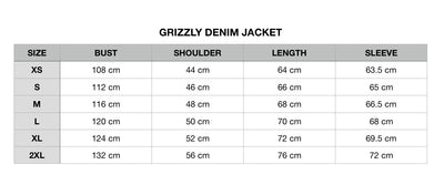 Grizzly Denim Jacket