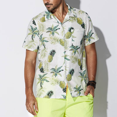 Piña Hawaiian Shirt
