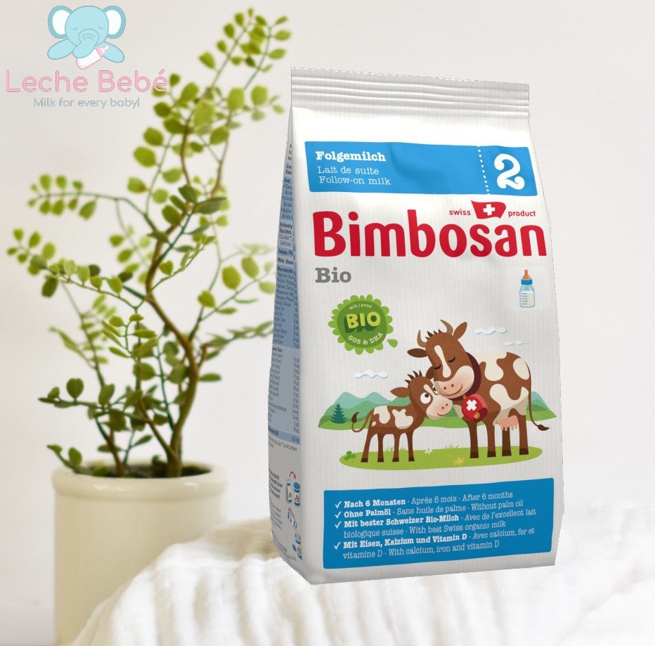 Bimbosan Swiss Organic Follow- on Infant Milk Formula Stage 2