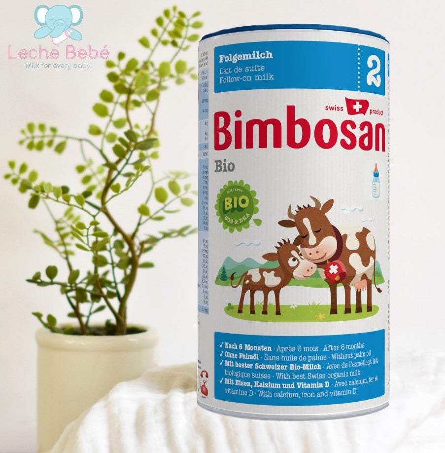 Bimbosan Swiss Organic Follow-on Infant Milk Formula Stage 2