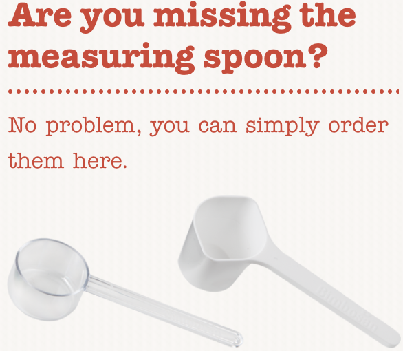 Bimbosan Swiss Formula Measuring Spoon
