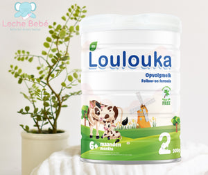 Loulouka Swiss Organic Follow- on Infant Milk Formula Stage 2