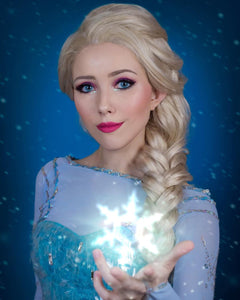 Elsa Blonde Hair Synthetic Lace Front Wig