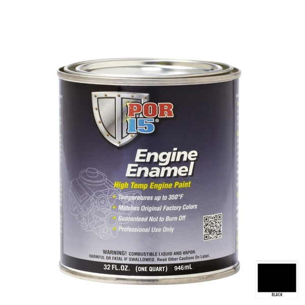 Engine Enamel - Quart | Black