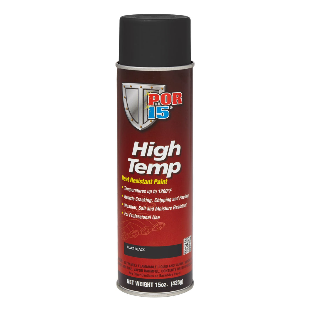High Temp - Flat Black | Aerosol
