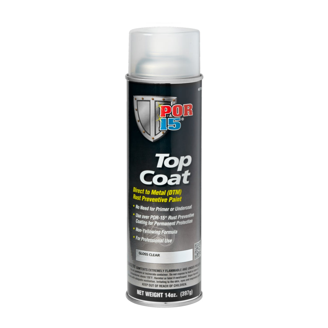Top Coat | Gloss Clear - Aerosol