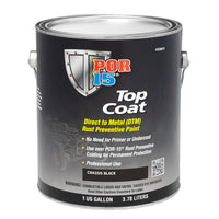 Top Coat | Chassis Black - Gallon