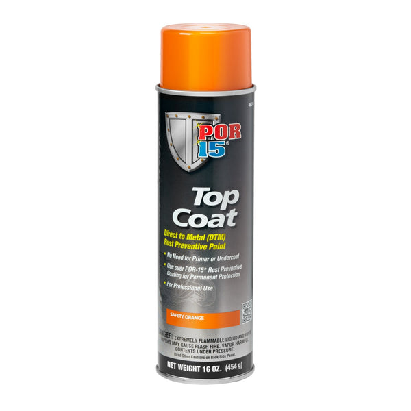 Top Coat | Safety Orange - Aerosol