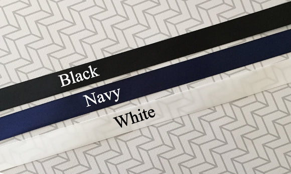 Dark Neutrals Custom printed LOGO RIBBON, packaging, gifts