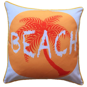 Beach Outdoor Cushion Cover 45 x 45cm