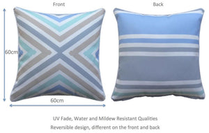 Cross Outdoor Cushion Cover 60 x 60cm