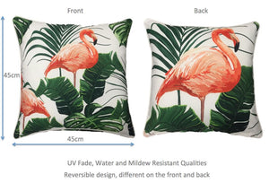 Flamingo Natural Outdoor Cushion Cover 45 x 45cm