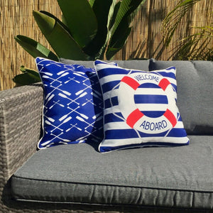 Rowing Club Outdoor Cushion Cover 45 x 45cm
