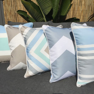 Trio Mint Outdoor Cushion Cover 45 x 45cm