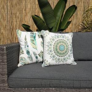 Boho Mandala Outdoor Cushion Cover 45 x 45cm