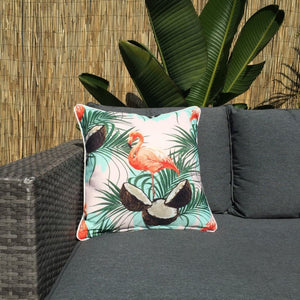 Flamingo Coco Outdoor Cushion Cover 45 x 45cm