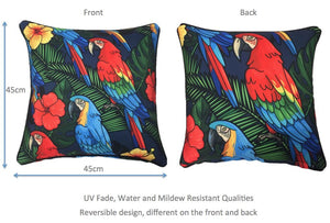 Macaw Outdoor Cushion Cover 45 x 45cm