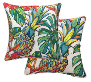 Pineapple Multi Outdoor Cushion Cover 45 x 45cm