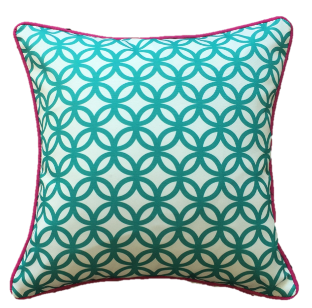 Pink Diamond Outdoor Cushion Cover 45 x 45cm