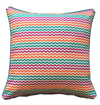 Pink Mini Chevron Outdoor Cushion Cover 45 x 45cm