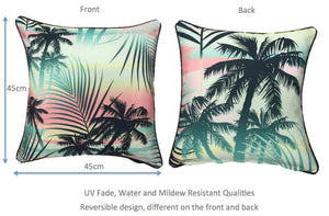 Sunset Outdoor Cushion Cover 45 x 45cm