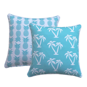 Turq Palmapple Outdoor Cushion Cover 45 x 45cm