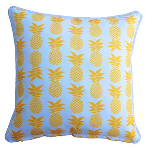 Yellow Palmapple Outdoor Cushion Cover 60 x 60cm