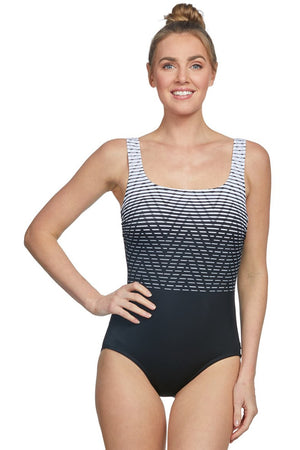Reebok Women's Electric Express One Piece Swimsuit